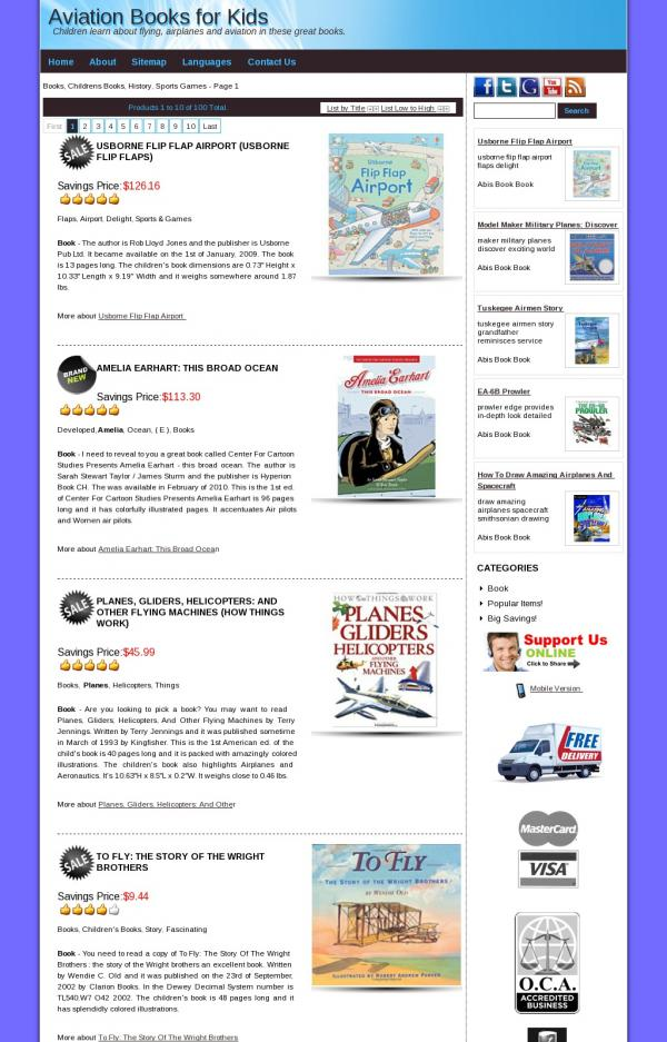 Aviation Books for Kids