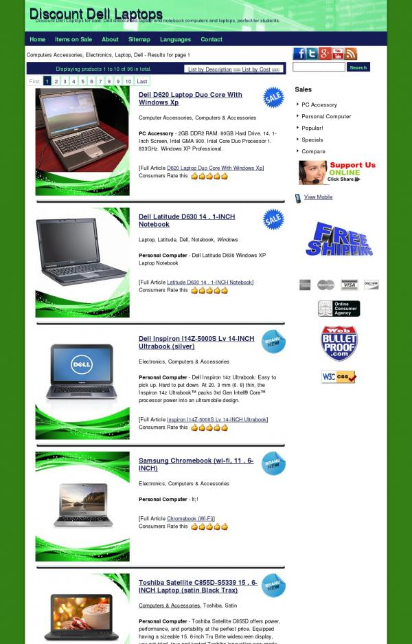 Discount Dell Laptops